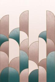 Rasch Salisbury Fotobehang 552157 Art Deco/Modern/Boog/Geometrisch