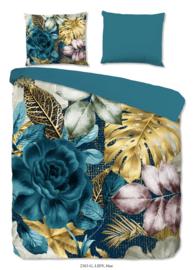 Muller Textiles Dekbedovertrek 2363-G Lidy/Botanisch/Bladeren/Bloemen
