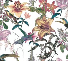 AS Creation Jungle Chic Behang 37701-1 Botanisch/Bloemen/Vogels
