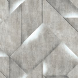 Dutch Wallcoverings Onyx Behang M35211 Modern/Beton/Steen/Blok/3D