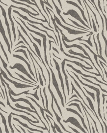 Eijffinger Skin Behang Fotobehang 300601 Zebra Black & White/Dieren/Huiden/Natuurlijk