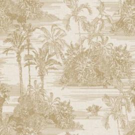 Dutch Wallcoverings Eden Behang M37302 Botanisch/Tropisch/Bomen/Natuurlijk