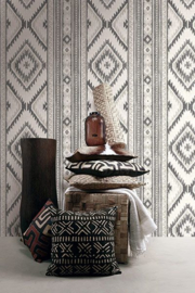 Dutch Wallcoverings Global Style Behang  UE80001 Navajo/Strepen