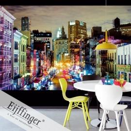 Eijffinger Wallpower Wonders Behang 321553 Urban Rainbow/Steden/Multi/Uitzicht Fotobehang