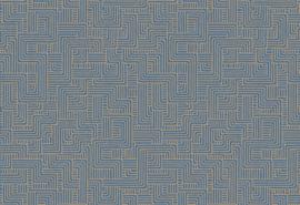 Hookedonwalls Sketch Behang 19530 Turns/Modern/Grafisch/Lijnen