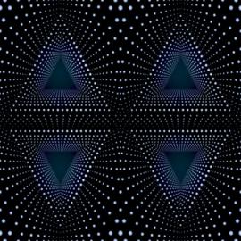 Noordwand Good Vibes Behang GV24221 Modern/Geometrisch/Driehoek/Stippen