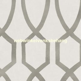 Eijffinger Stripes+ Behang. 377042 Modern/Offwhite/Levertint