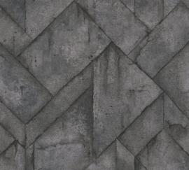 AS Creation Industrial Behang 37741-2 Modern/Beton/Grafisch/Industrieel
