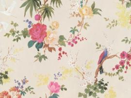 BN Wallcoverings/Voca Fiore Behang 220480 Blooming/Bloemen/Floral/Vogels/Landelijk