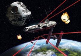 Disney 8-489 Star Wars Millennium Falcon Fotobehang  - Noordwand