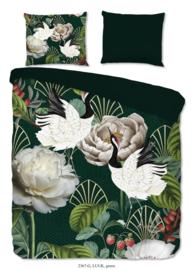 Muller Textiles Dekbedovertrek 2367 Luuk Green/Botanisch/Bloemen/Grafisch
