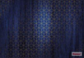 Komar/Noordwand Heritage Edition1 Fotobehang HX8-048 Mystique Bleu/Grafisch/Modern/3D Behang