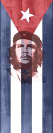 AS Creation Wallpaper 3 XXL Deurposter 739 Che/Che Guevara/Cuba/Vlag/Zelfklevend