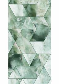 Kek Amsterdam Marble Green 2D Fotobehang WP-577 Marmer/Grafisch/Modern/Groen