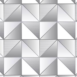 Rasch Galerie Geometrix Behang GX37630 Geometrisch/Modern/Driehoeken