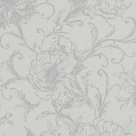 Rasch Amiata 296289 Bloemen/Romantisch/Landelijk/Modern/Grijs Behang