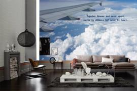 AS Creation Wallpaper XXL3 Fotobehang 470657XL Over Cloud/Tekst/Wolken