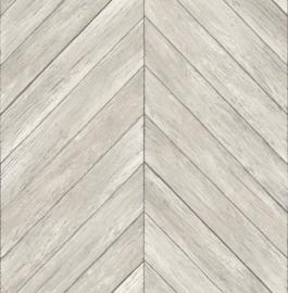 Dutch Wallcoverings Trilogy Behang FD24005 Hout/Planken/Chevron/Visgraat