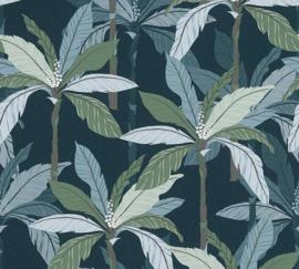 AS Creation Geo Nordic Behang 37530-6 Botanisch/Palm/Bomen/Bladeren