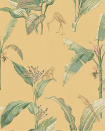 Eijffinger Oasis Behang 317343 Tropical/Vogels/Botanisch