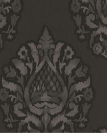 Eijffinger Savor  Behang 353043 Barok/Vintage/Ornamenten/Klassiek/Zwart/Goud
