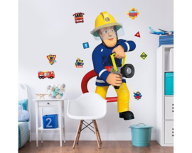 Walltastic Fireman Sam 44333 Muursticker Set - Dutch Wallcoverings