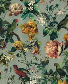 Eijffinger Museum Behang 307302 Tropisch/Botanisch/Bloemen/Vogels