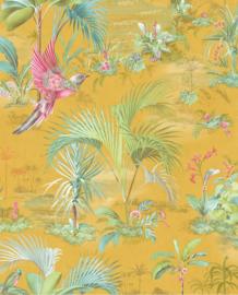 Eijffinger Pip Studio 5 Behang 300143 Tropisch/Tropical/Palmbomen/Bladeren/Natuurlijk/Geel