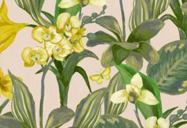 Hookedonwalls Breeze Behang BR24082 Orchidea/Bloemen/Botanisch/Vlinders