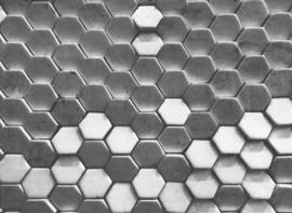AS Creation Designwalls Fotobehang DD118722 Hexagon Surface 1/Modern/3D