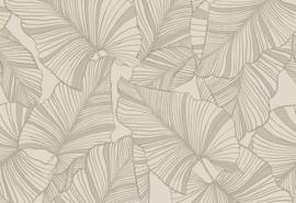 Hookedonwalls Botanical Behang 19712 Laurus/Botanisch/Bladeren/Natuurlijk