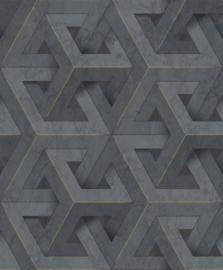 Dutch Wallcoverings Onyx Behang M34709 Modern/Grafisch/3D/Marmer