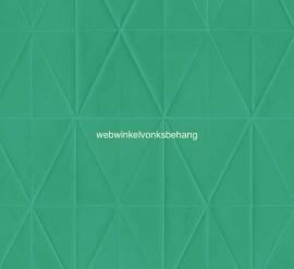 Origin Urban Funky Behang.  342-347215  Modern/Driehoeken/Groen