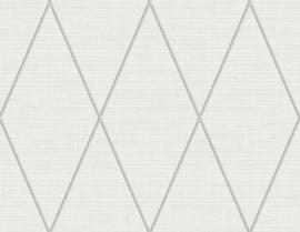 Dutch Wallcoverings Navy, Grey & White Behang BL71800 Grafisch/Ruiten/Landelijk