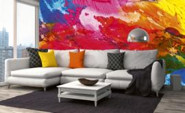 Dimex Fotobehang Abstract Painting MS-5-0268 Modern/Abstract/Verf Kleuren