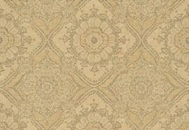 Hookedonwalls Clarence Behang CR3103 Barok/Ornament/Etnisch/Geel/Eclectisch