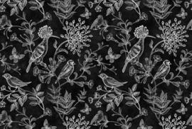 AS Creation Living Walls by Patel Fotobehang DD110347 Blackboard 9/Vogels/Botanisch/Bloemen Behang