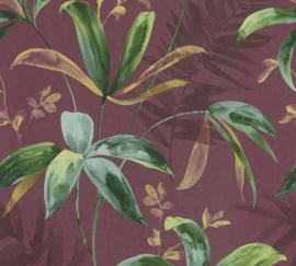 AS Creation Jungle Chic Behang 37704-3 Botanisch/Bladeren/Natuurlijk