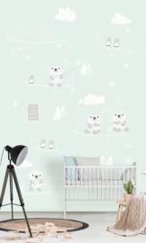 Behangexpresse Kay & Liv INK7038 IJsbeer/Pinquin/Baby/Peuter/Kleuter Fotobehang
