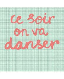 Eijffinger Rice Behang 359166  Tonight we will Dance/Mint  Fotobehang