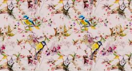 AS Creation Living Walls by Patel Fotobehang DD110232 Songbirds 2/Vogels/Botanisch Behang