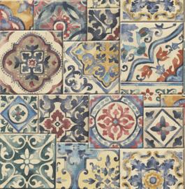 Dutch Wallcoverings Trilogy Behang FD22301 Tegel/Ornament/Verweerd