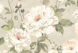 Hookedonwalls Fiore Behang FO 3102 Romantisch/Klassiek/landelijk/Bloemen