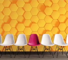 AS Creation Designwalls Fotobehang DD118728 Honey Comb 2/Modern/3D/Honingraat/Hexagon/Retro