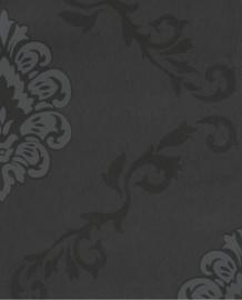 Eijffinger Savor Behang 353000 Barok/Ornamenten/Klassiek/Zwart