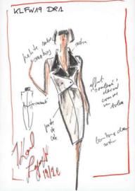 AS Creation Karl Lagerfeld Fotobehang DD120247 Sketch/Mode Schets/Karl