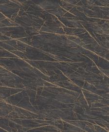 Rasch Factory IV Behang 428964 Marmer/Structuur/Modern/Industrieel/Zwart/Goud