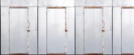 AS Creation AP Digital4 Behang DD108566 Iron Doors/Metalen Deuren/Industrieel/Modern Fotobehang