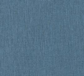 AS Creation Daniel Hechter 6 Behang 37952-1 Uni/Linnen Structuur/Modern/Natuurlijk/Blauw