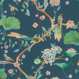 Onszelf Amazing Behang 539462 Botanisch/Bloemen/Vogels/Modern/Natuurlijk
